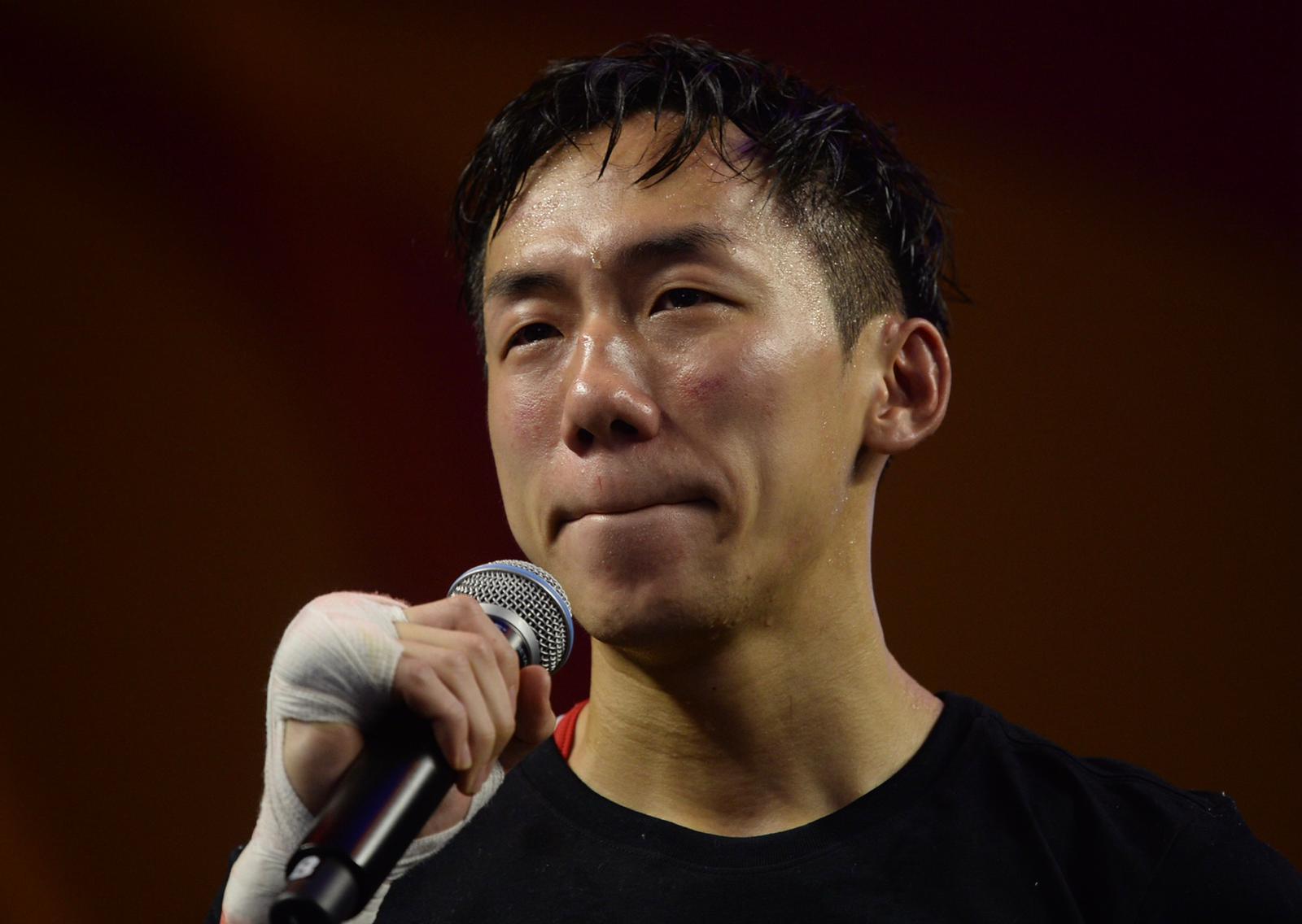 曹星如賽後宣布,將重返業餘拳壇,努力爭取2020東京奧運資格。蘇正謙攝