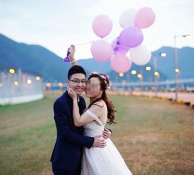 30歲死者顏浩斌原與同任地勤的未婚妻下月舉行婚禮。