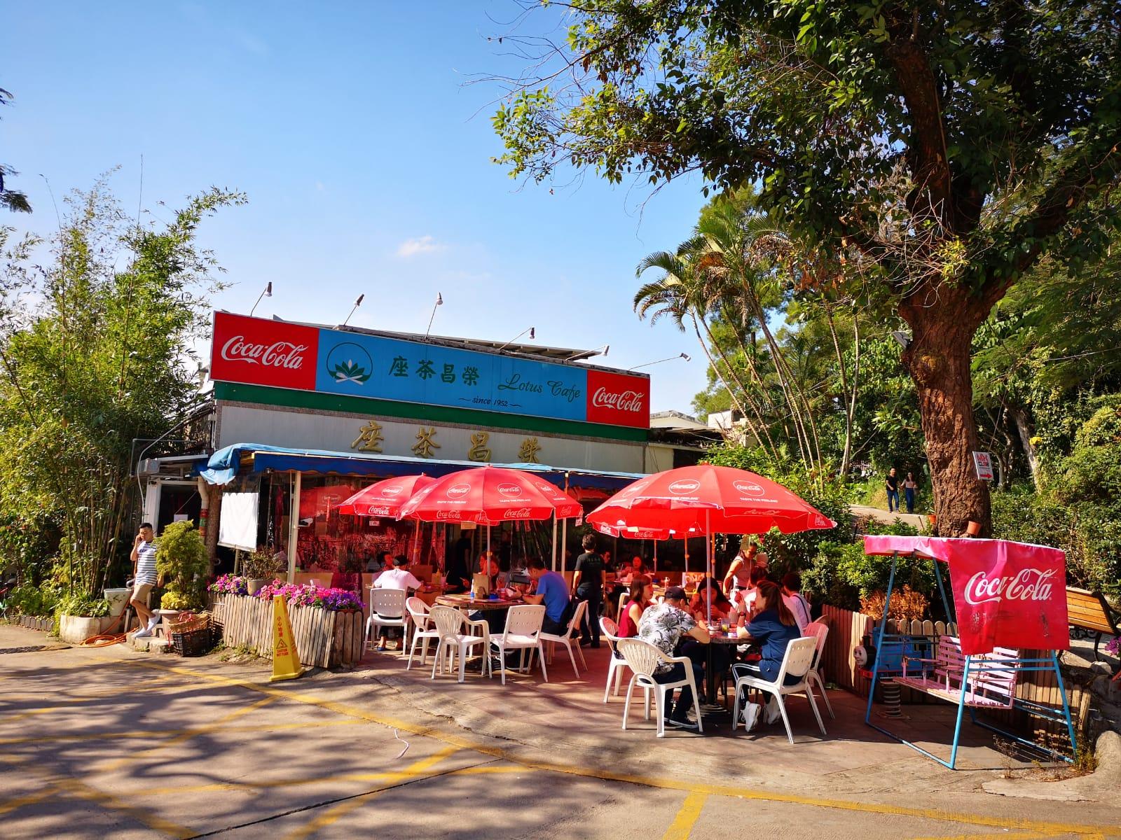 位於蓮塘尾村的榮昌茶座懷疑遭賊人爆竊。