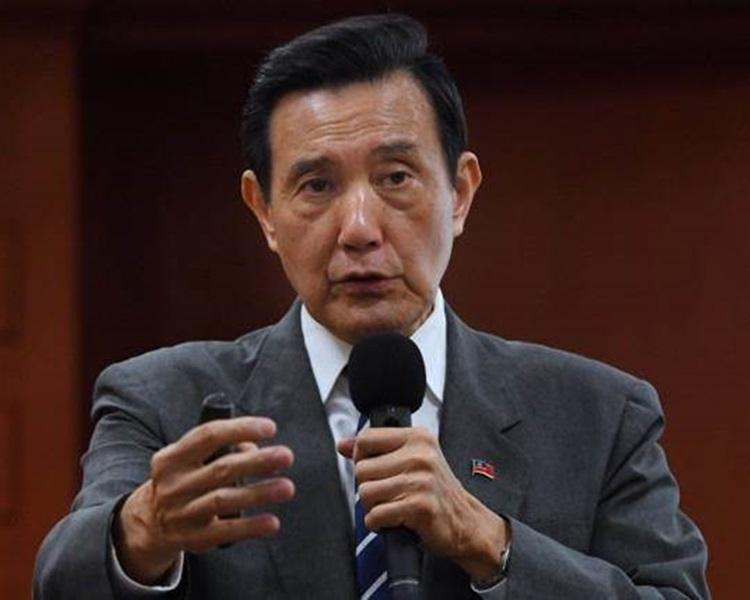 馬英九表示蔡政府衰敗比馬政府還快四年。網圖