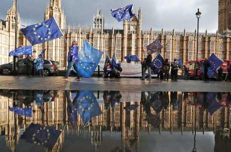 英國脫歐進入最後階段,但能否通過仍是未知之數。AP