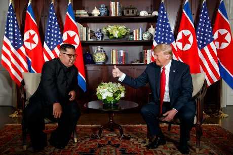 南北韓高峰會談因「特金會」而推遲。AP