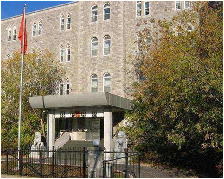 中國駐加拿大大使館在其網站發表聲明。