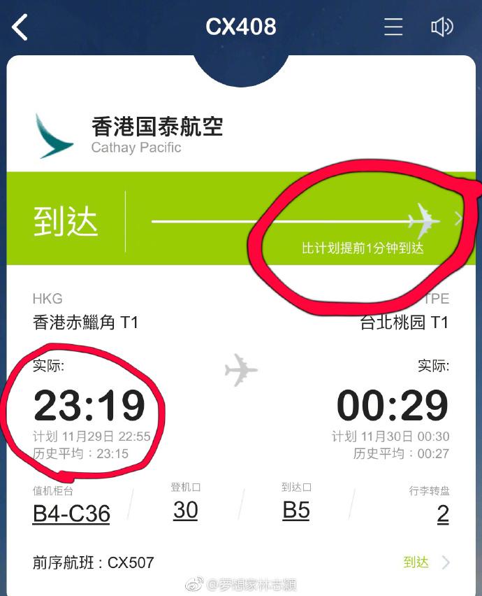 林志穎澄清自己無耽誤航班。網上圖片