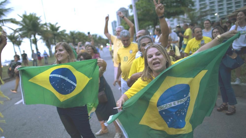 巴西近年經濟不景。AP圖片