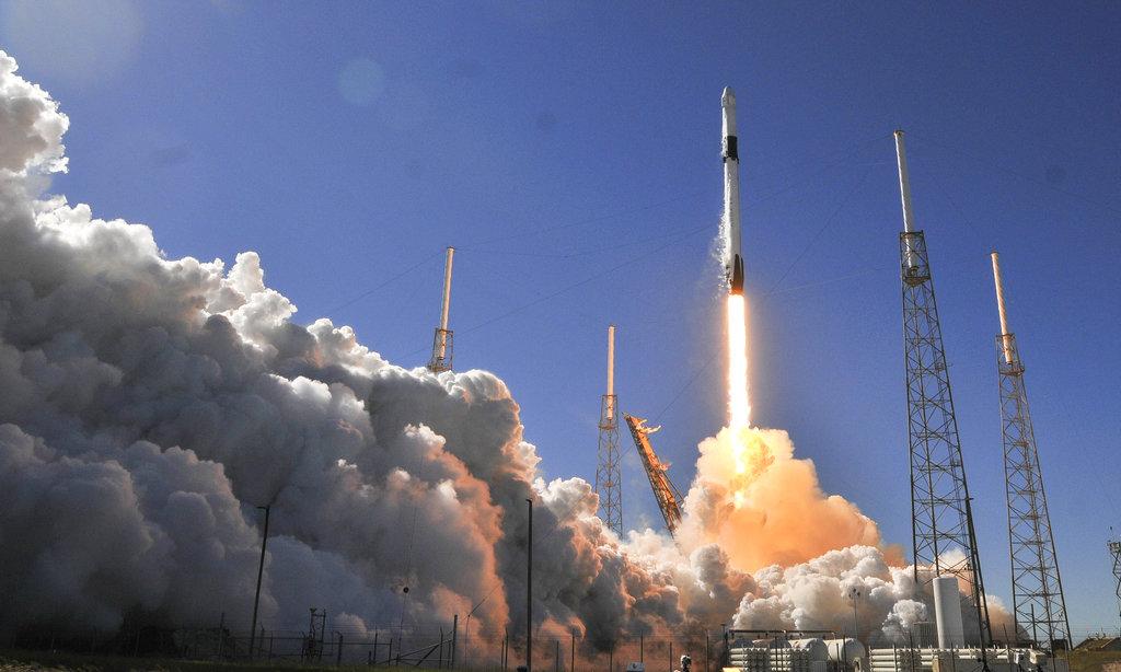 獵鷹9號火箭發射過程十分順利。AP