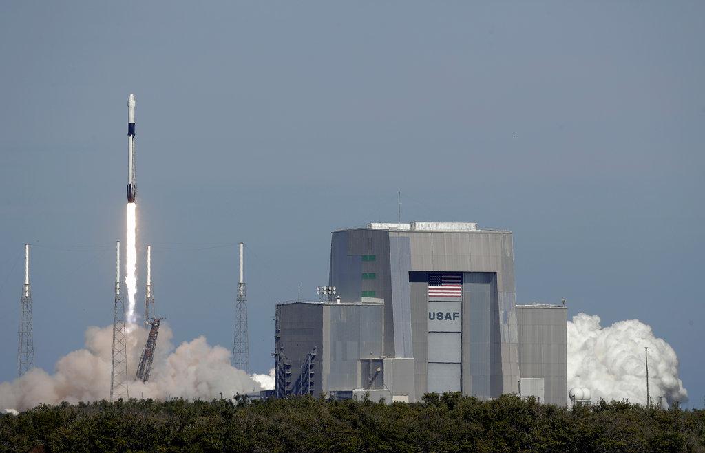 火箭發射過程十分順利。AP