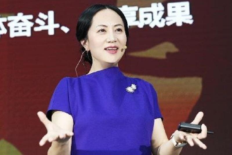 華為副董事長兼首席財務官孟晚舟。網上圖片