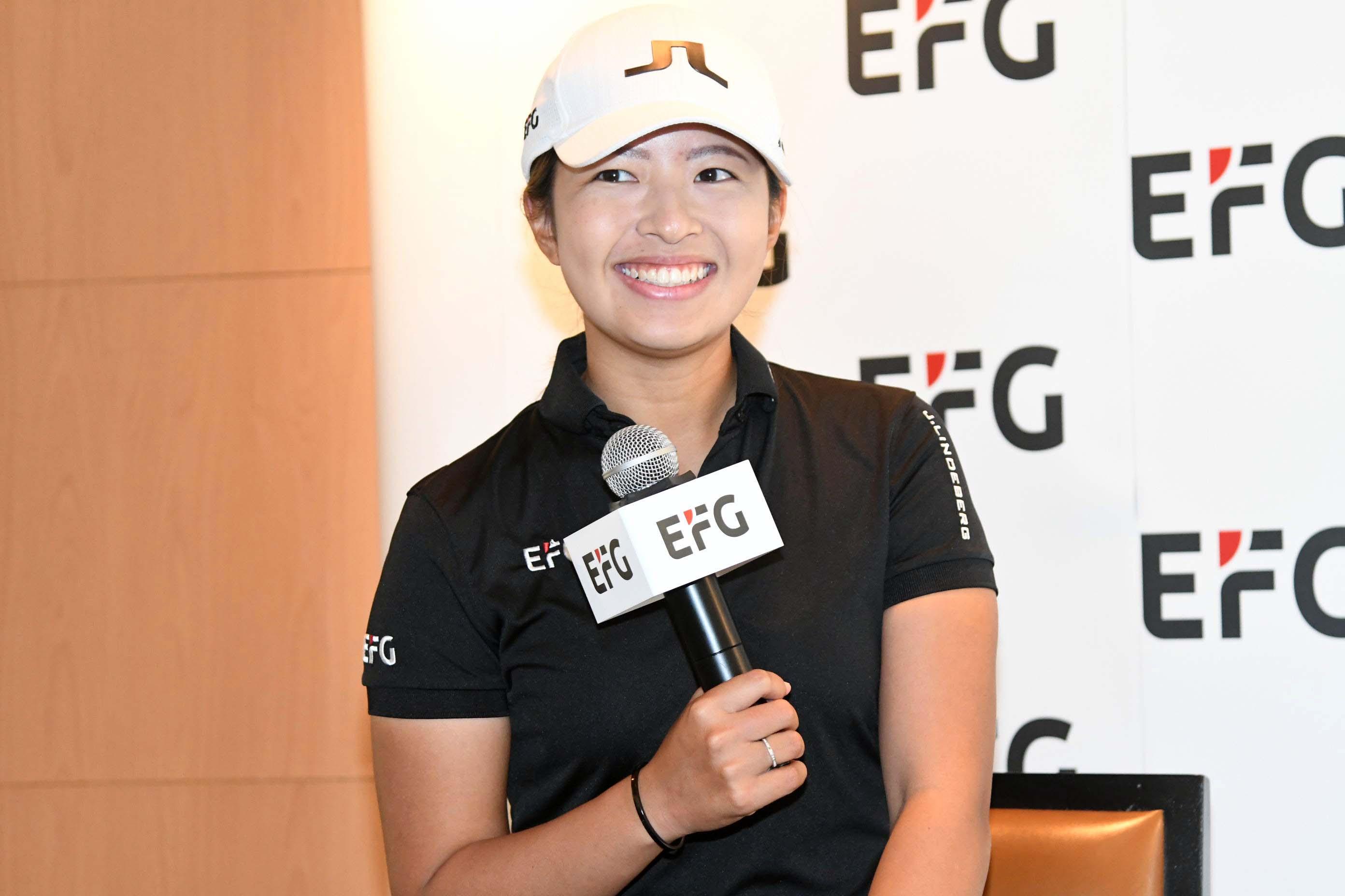 陳芷澄是首位出戰LPGA的港將。郭晉朗攝