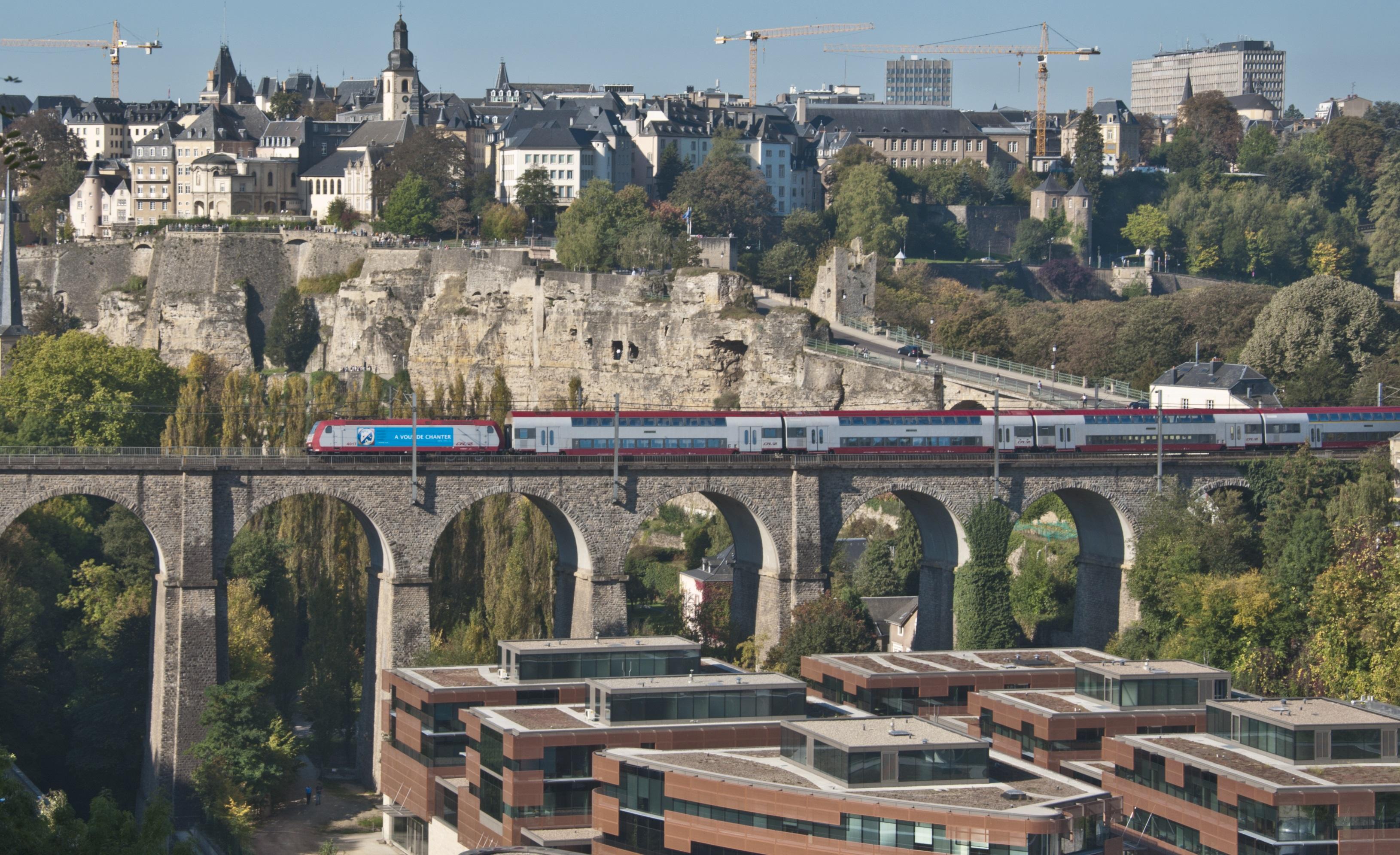 盧森堡明年夏天起所有公共交通工具免費。網上圖片