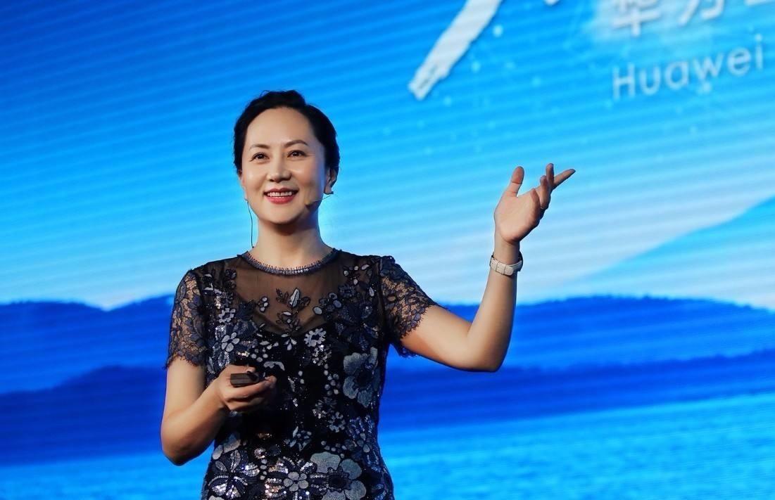 華為第二代接班最熱門人選的孟晚舟。網圖