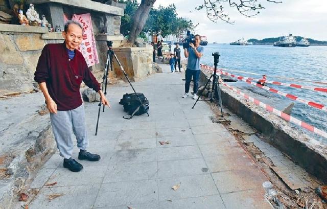 香港仔昨日海面發生尼龍袋藏屍案,警方正調查事件。 資料圖片