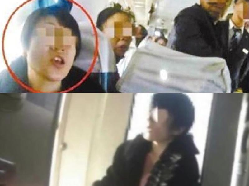 網民稱列車上有一女子霸佔他人座位,還聲稱「誰先坐就是誰的」。(網圖)