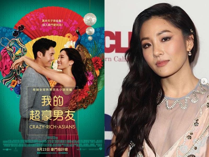 美籍華裔女星吳恬敏獲提名為喜劇/歌舞片組最佳女主角。網圖
