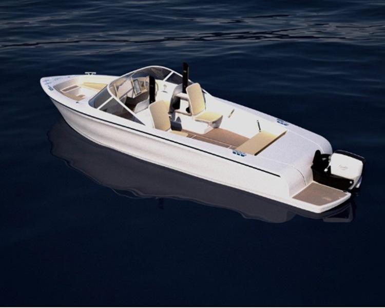 瑞典推出全球第一艘電動快艇。網圖