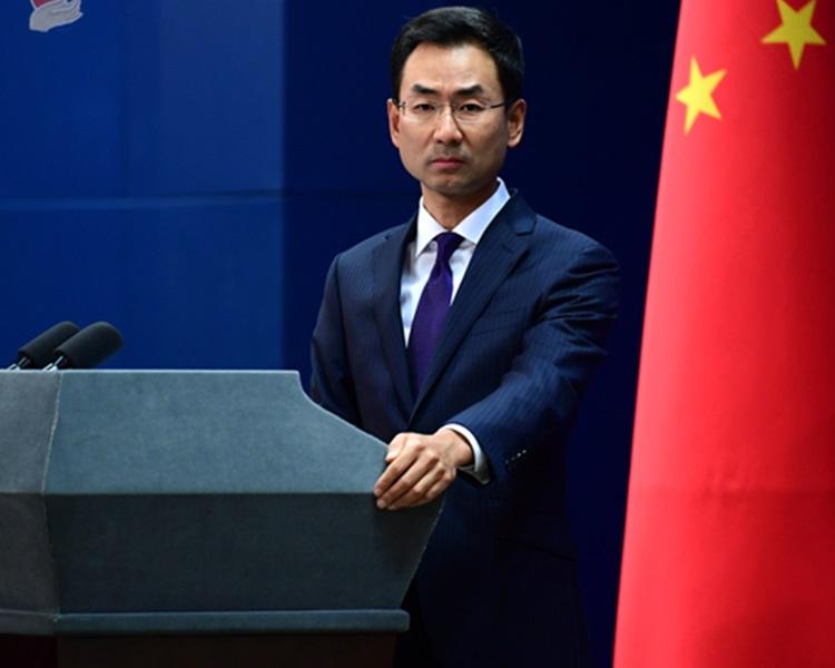 中國外交部對日本停止採購華為中興產品,表示嚴重關切。資料圖片