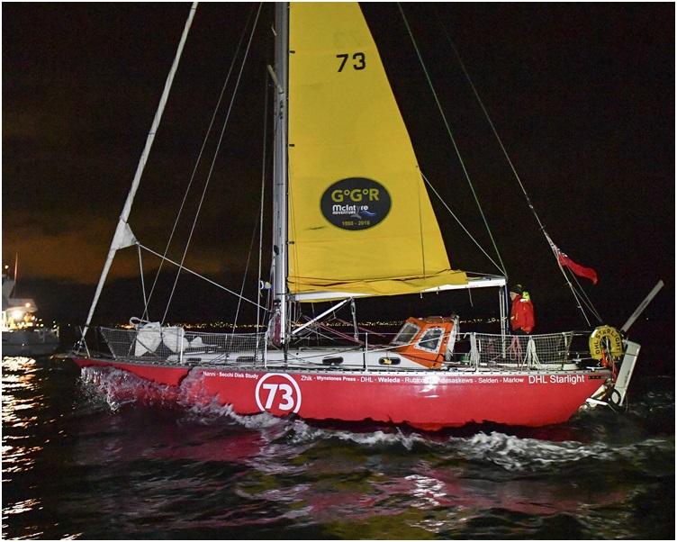 古多尔被香港注册货轮「天福号」救起。