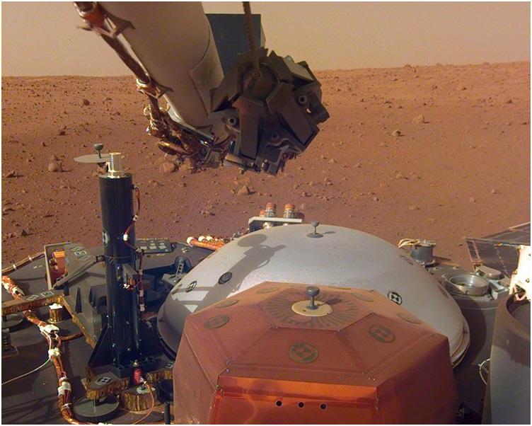 「洞察号」探测器是于上月26日在火星着陆。