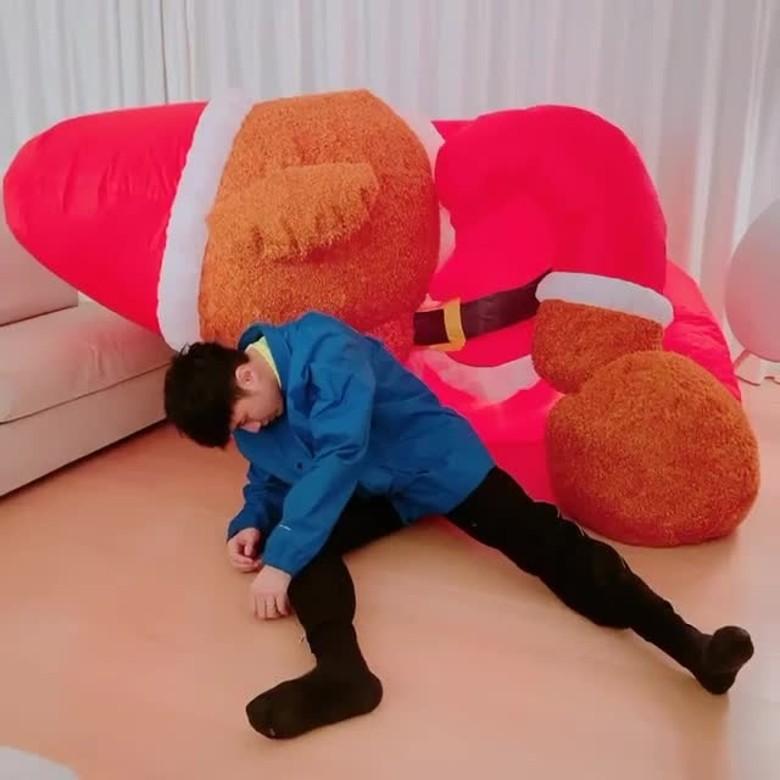 基仔收埋「巨熊」兩年終見天日。IG圖片