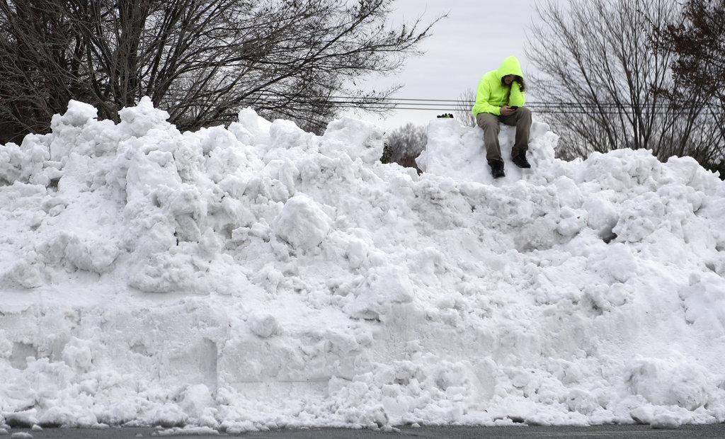 北卡州部分地区交通中断。图片
