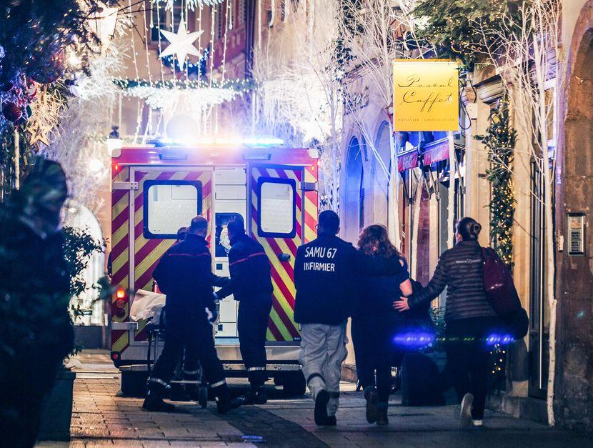 法国东部斯特拉斯堡市中心一个圣诞市集周二发生严重枪击案。
