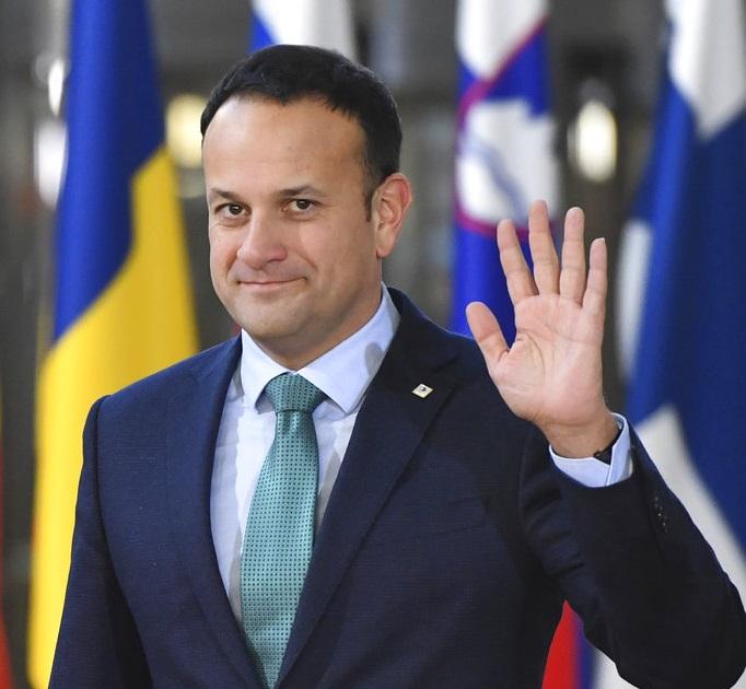 愛爾蘭總理瓦拉德卡。AP