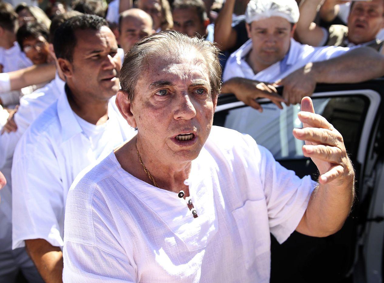 約翰泰謝拉法利亞被指控對尋求醫療協助的婦女性侵害,受害者逾300人。AP