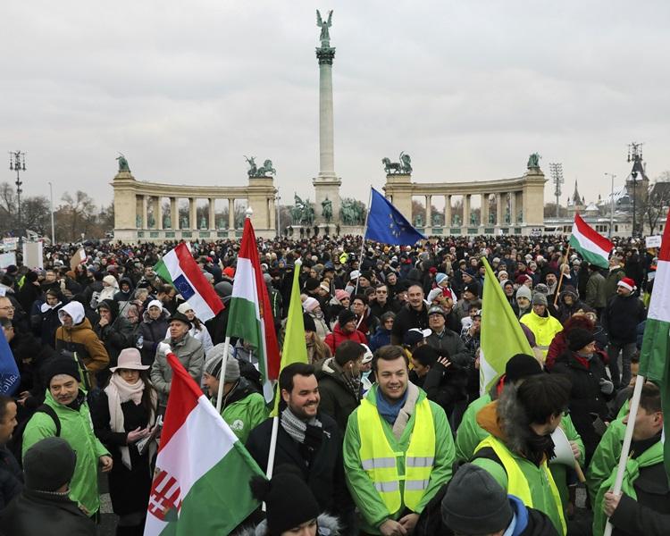 匈牙利英雄广场(Heroes' Square)。
