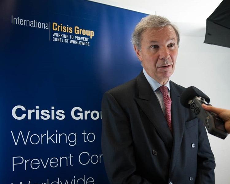 國際危機組織行政總裁馬萊(Jean-Marie)表示中國的行為可能引發「寒蟬效應」。網圖