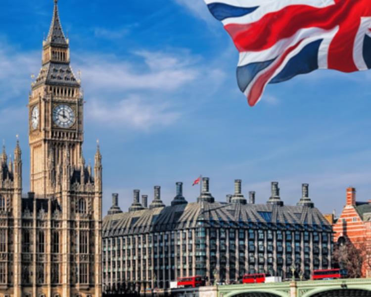 英國旅遊局預測今年跨年的中國旅客再創新高。網圖