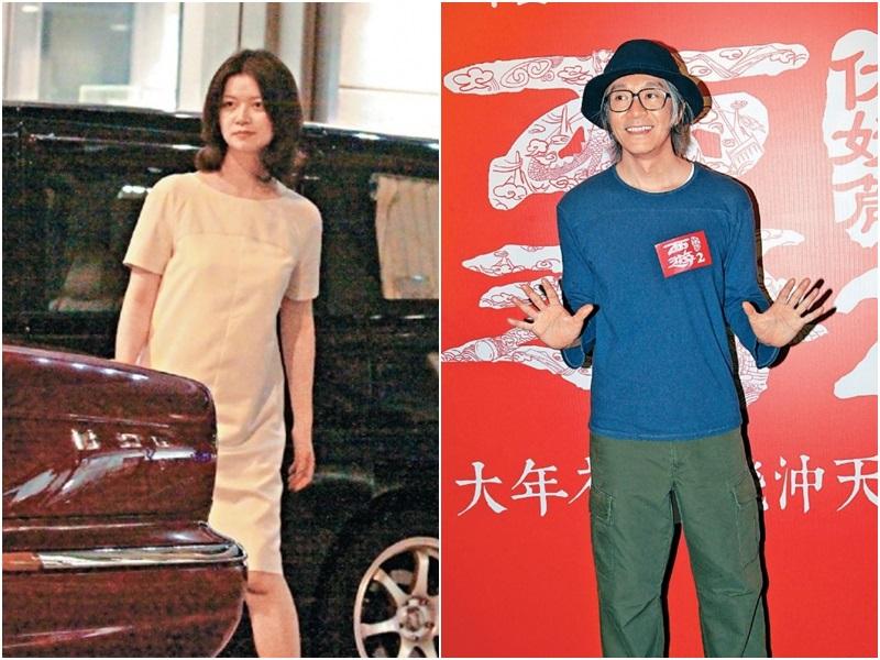 周星馳(右)遭前女友于文鳳(左)追討佣金。資料圖片