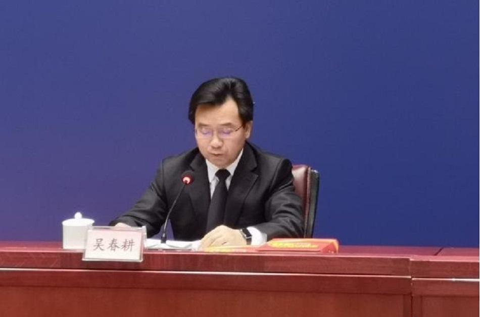 交通运输部新闻发言人、政策研究室副主任吴春耕。网上图片