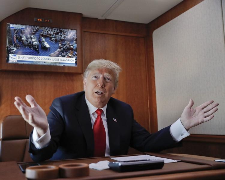 有傳特朗普將對中興及華為發出禁令。AP