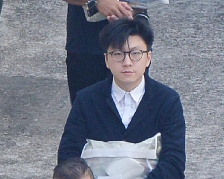 梁天琦暴動罪及襲警罪成入獄,重囚六年。資料圖片