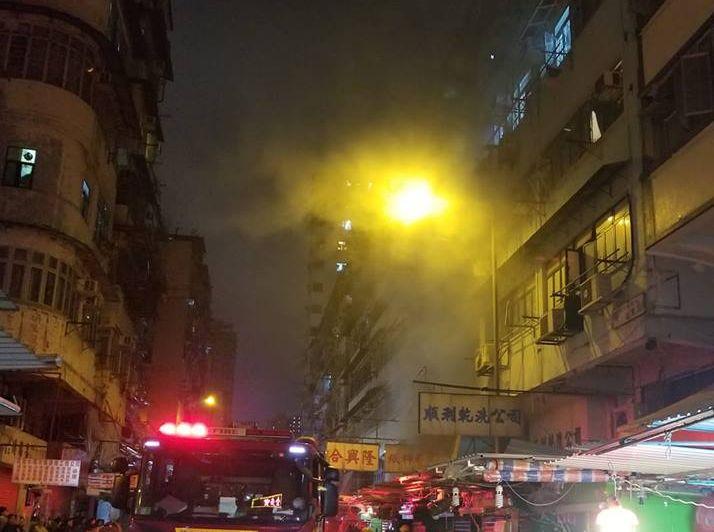 香港突發事故報料區Facebook專頁網民Jason Moore圖片
