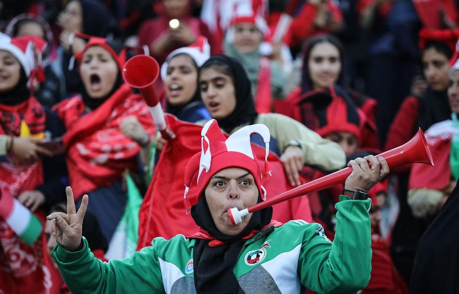 伊朗將會自1979年起首次舉辦女足隊比賽。網上圖片