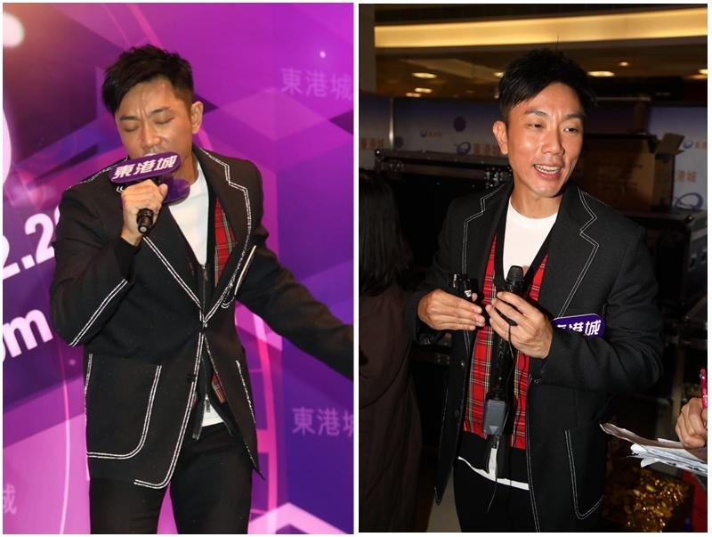 劉皓龍表示於個唱上應承過歌迷會保持身上八舊肌肉。