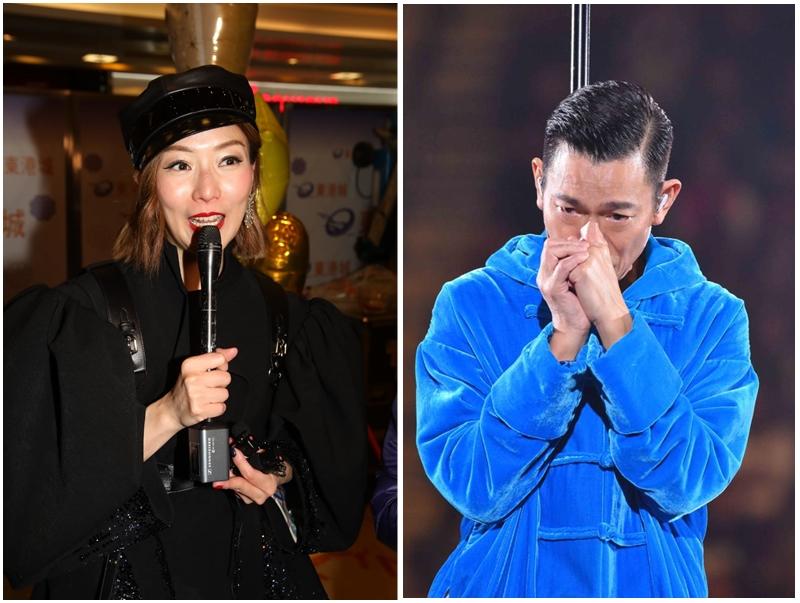sammi提到劉德華因患上流感而取消個唱,希望對方好好休息。