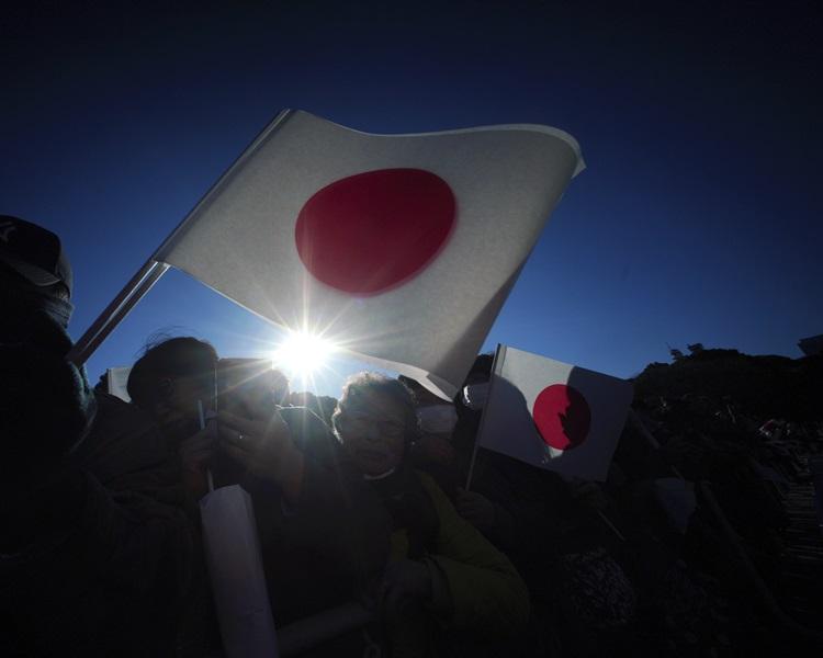 日本下周起对旅客开徵约70港元的出国税。AP