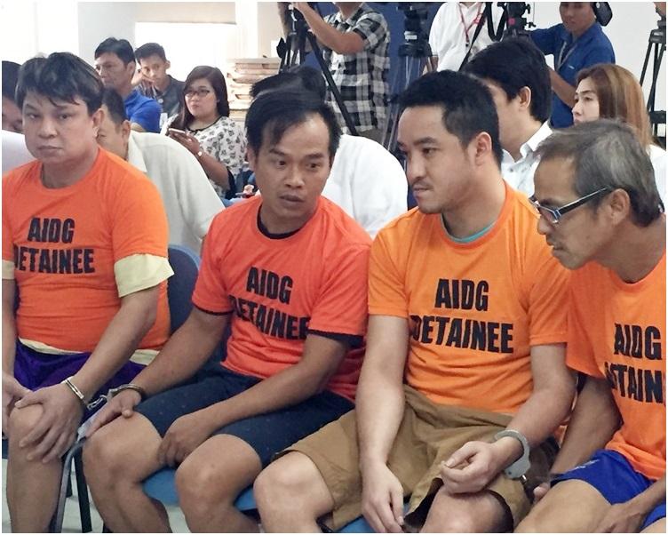 4名港人早前被判處終身監禁。資料圖片