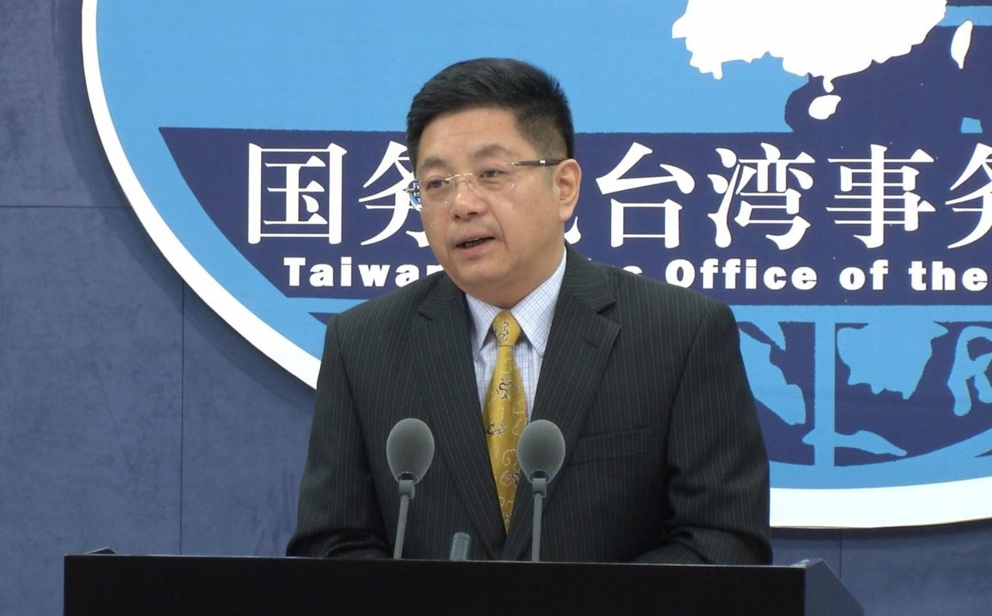 国台办发言人马晓光。新华社图片
