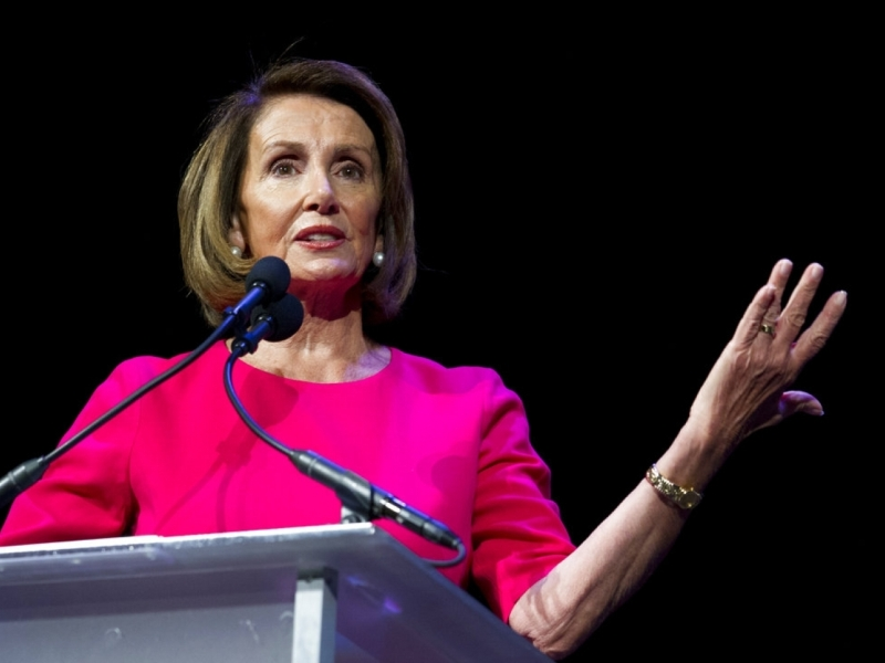 美國眾議院投票通過由民主黨的佩洛西出任19至20年度眾議院議長,AP