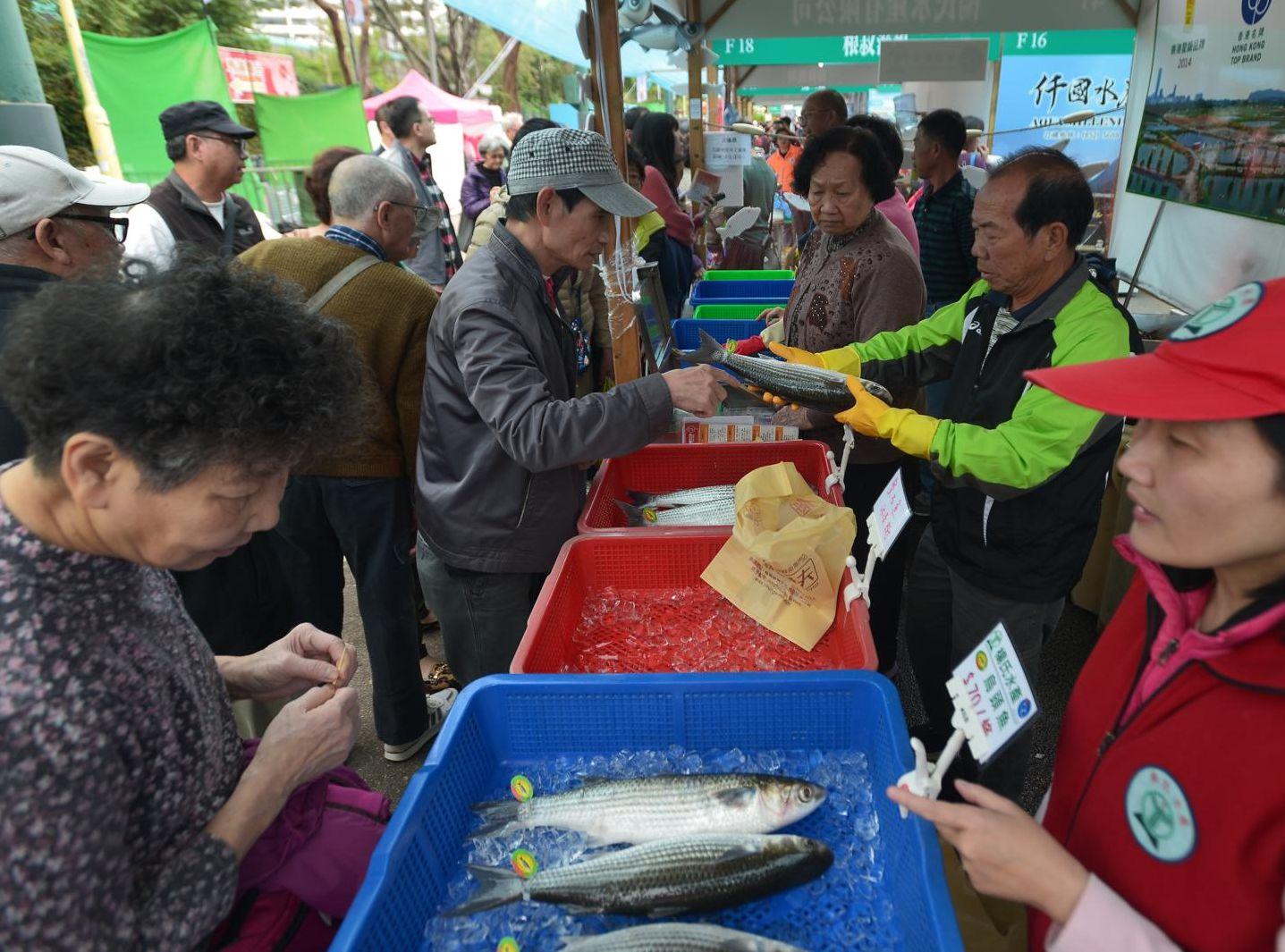 2019本地漁農美食嘉年華,由今日至周日,一連3天在旺角花墟公園舉行。