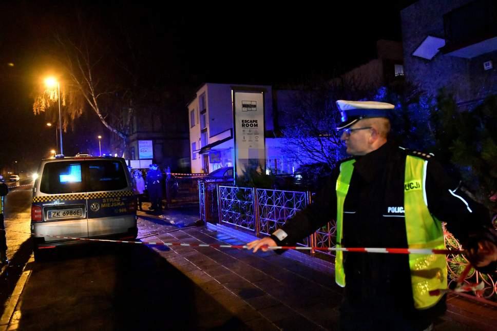 当地消防局发言人表示,所有死者都是女性,另一名男性则严重烧伤。网上图片
