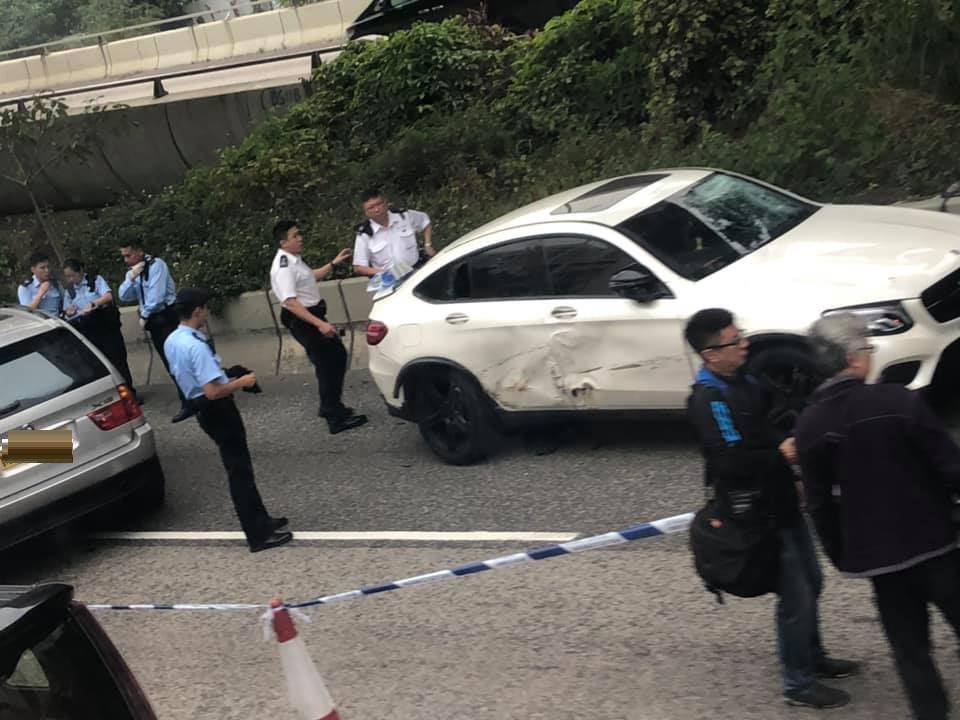 警方在場調查。突發事故報料區Cassidy Wong 圖片