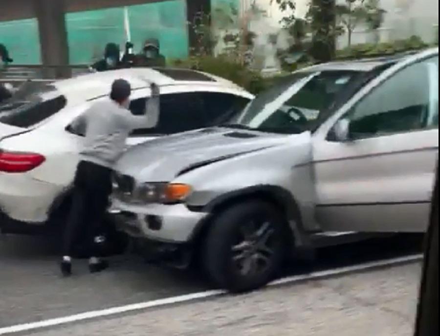 太子道東有刀手落車斬人。馬路的事討論區影片截圖
