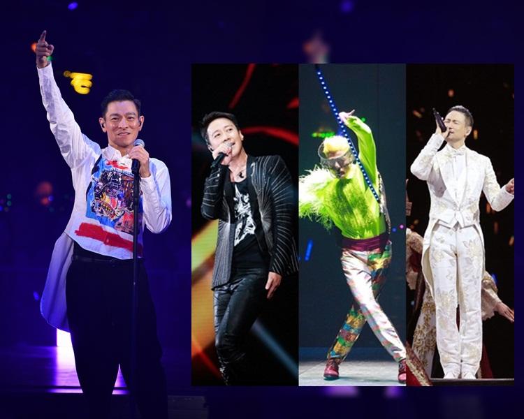劉德華力爭12月檔期補場開唱,如果成事,四大天王就一起2019齊踏紅館。