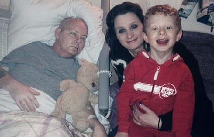 Natalie丈夫Tim Madeley在2015年因脑癌离世。网图