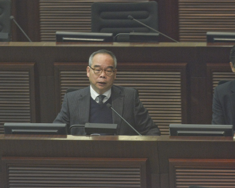 民政事務局局長劉江華。資料圖片