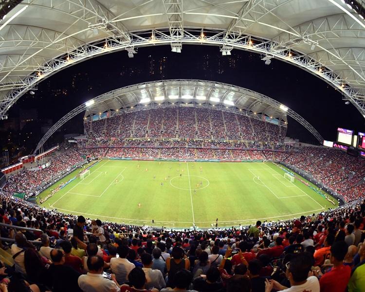 香港大球場。